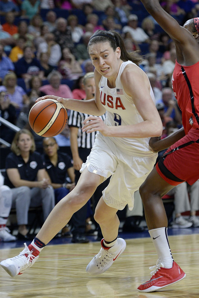 Breanna Stewart; USA Olympic Team