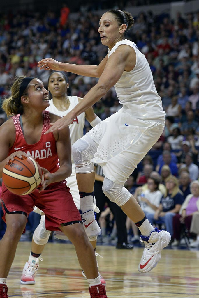 Diana Taurasi; USA Olympic Team