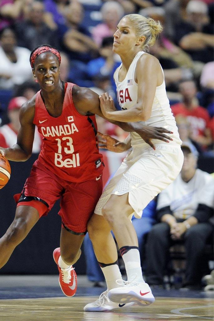 Elena Della Donne; USA Olympic Team