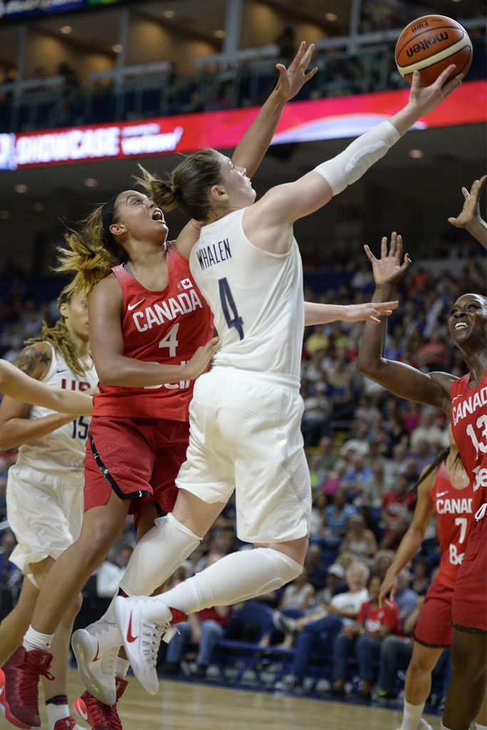 Lindsay Whalen; USA Olympic Team