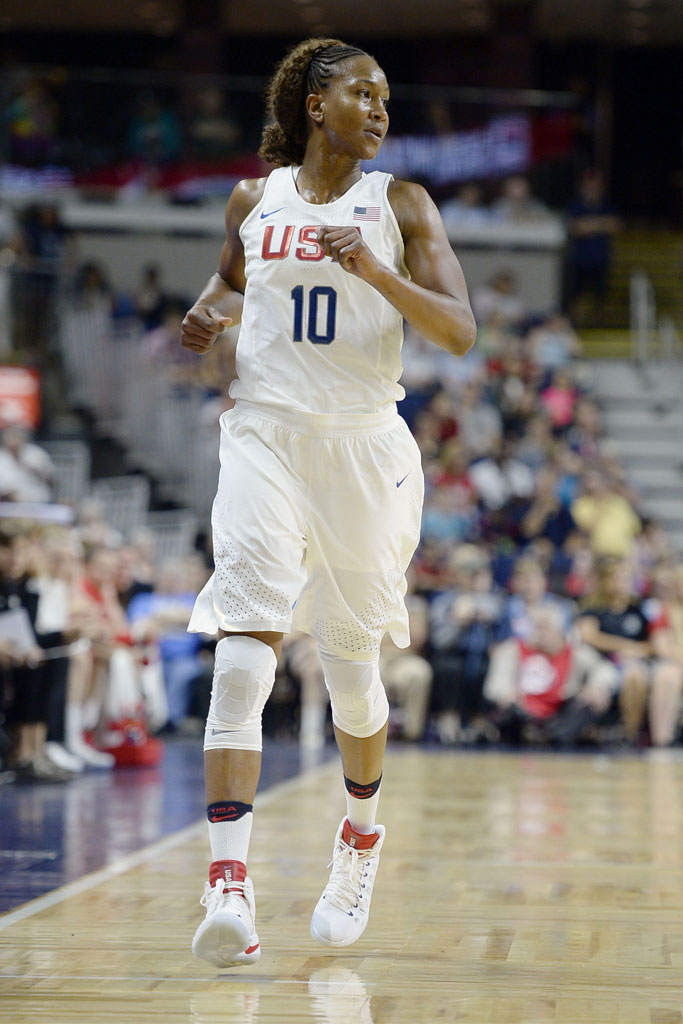 Tamika Catchings; USA Olympic Team