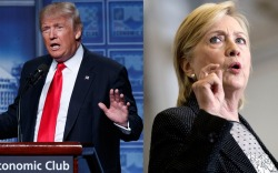 Trump, Clinton Presidential Election