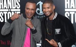 Usher Hands of Stone Premiere