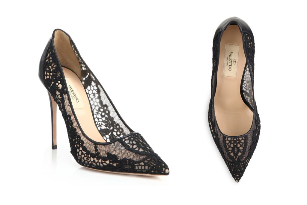 Kylie Jenner Birthday Party Valentino Lace Pumps