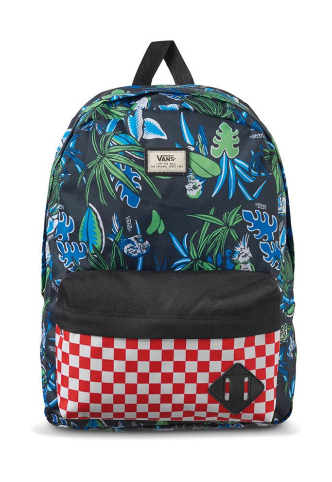 vans van doren approved sneakers backpack hat
