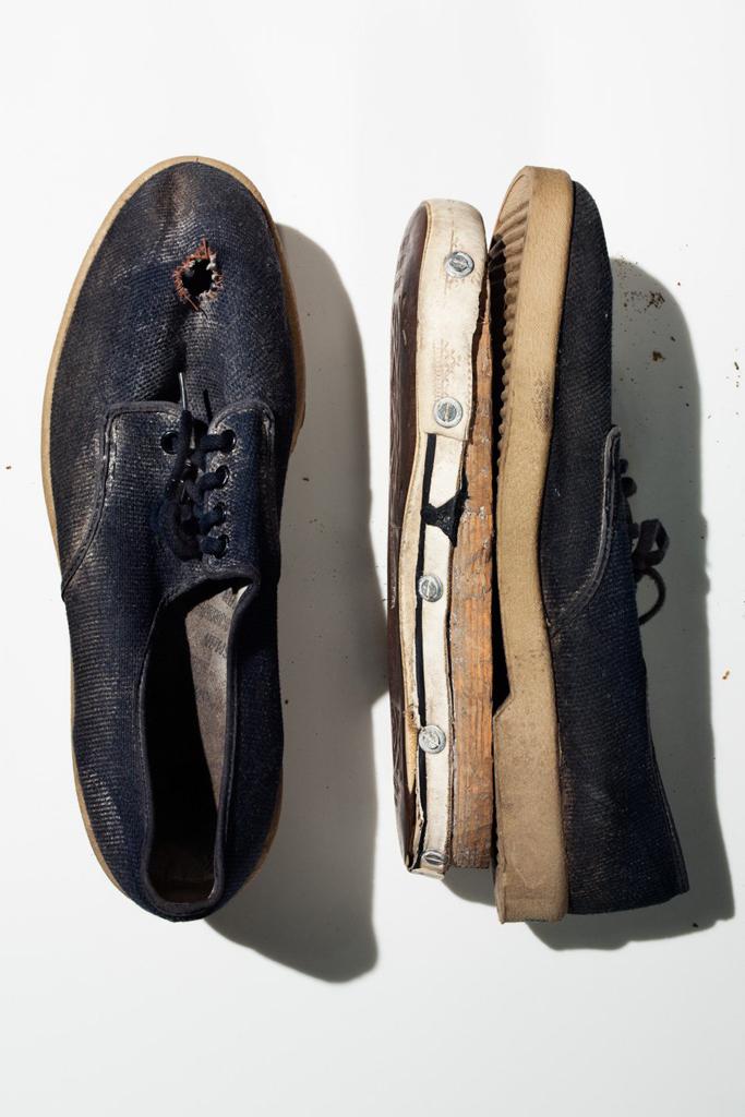 Theodore Kaczynski's Shoes