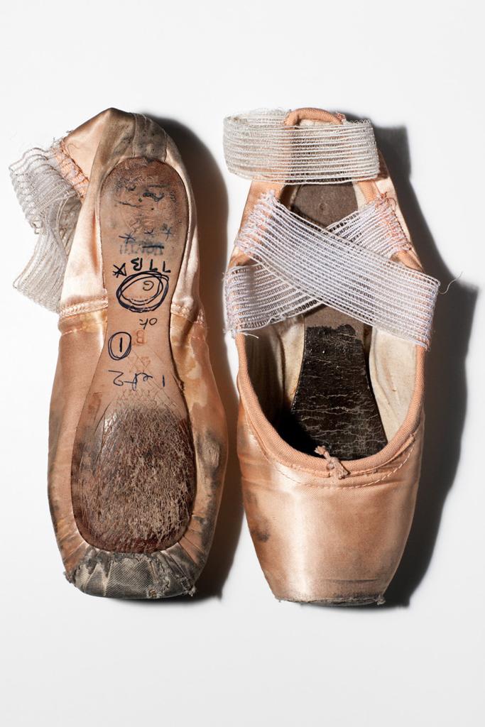 Sylvie Guillem's Pointe Shoes
