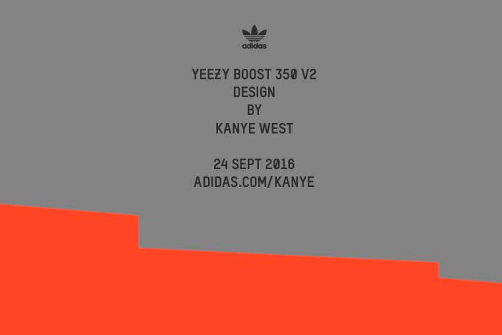 Adidas Originals Yeezy Boost 350 v2 Kanye West