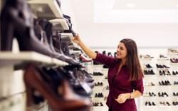 women shoe shopping trends