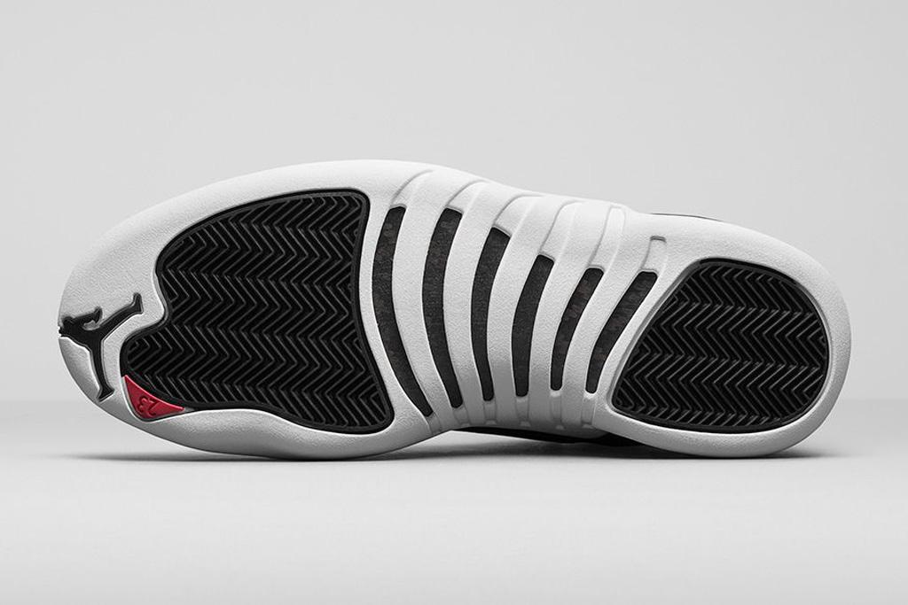 Air Jordan 12 Retro Black White