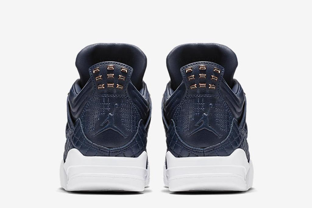 Air Jordan 4 Premium Obsidian