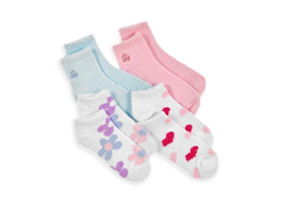 Ultra soft aloe-infused socks at Bed, Bath & Beyond.