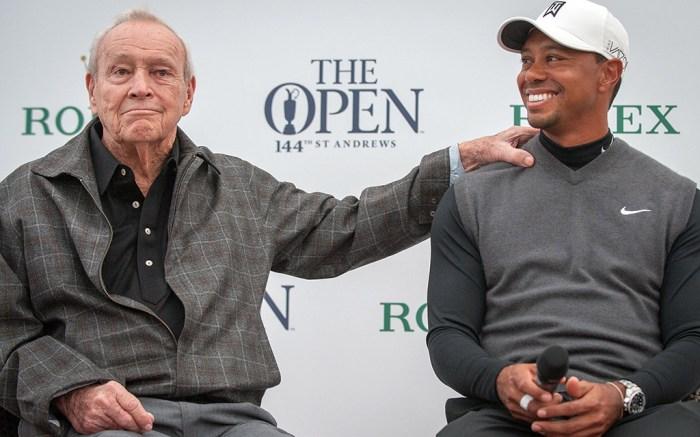 Arnold Palmer Tiger Woods Golf