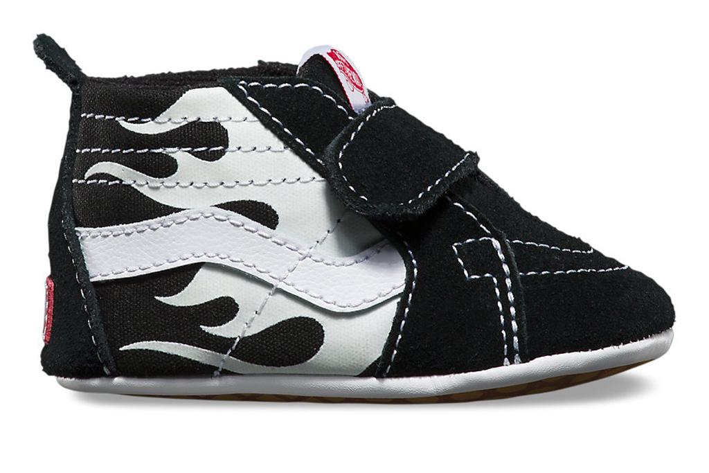 Baby Vans Flame Sneakers