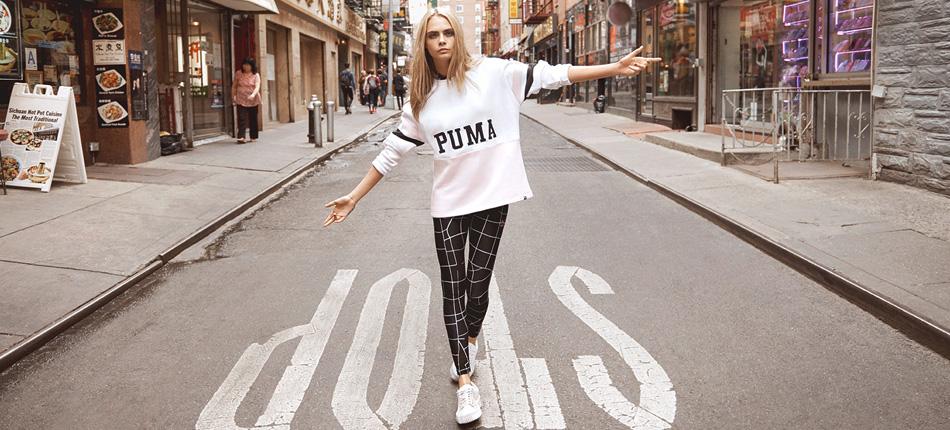 Cara Delevingne Puma Do You Campaign