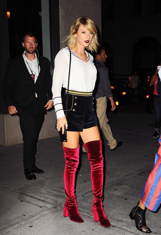 Taylor Swift Celebrity Statement Shoes September 2016