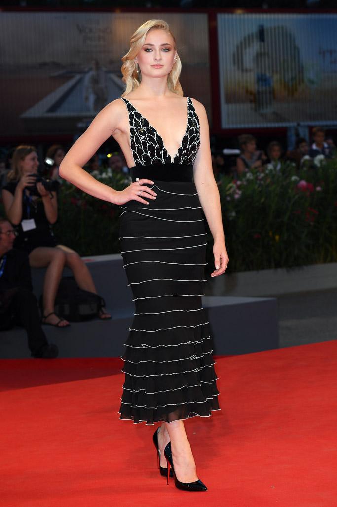 Sophie Turner Celebrity Statement Shoes September 2016