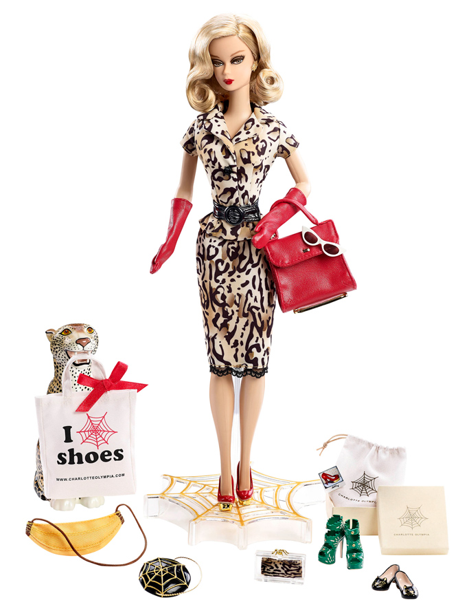 Charlotte Olympia And Barbie Collaboration