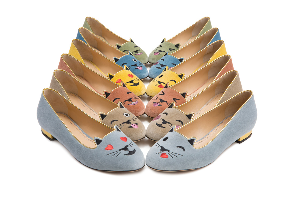 Charlotte Olympia Emoticats' Capsule Collection