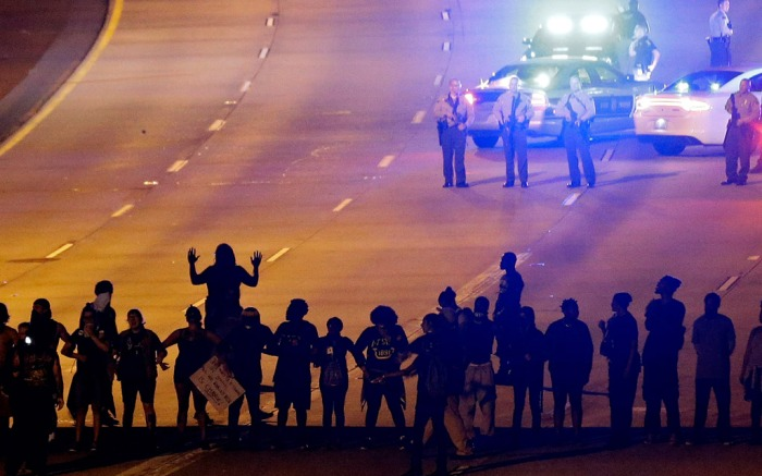 Charlotte, N.C. protests