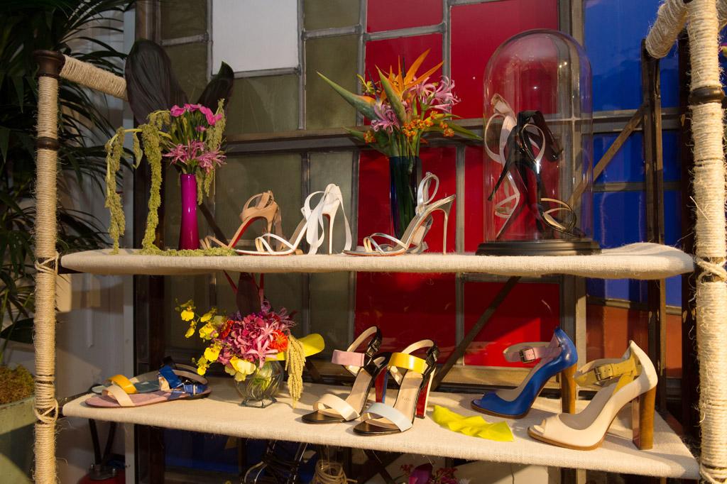 Christian Louboutin spring '17 styles at Paris Fashion Week.