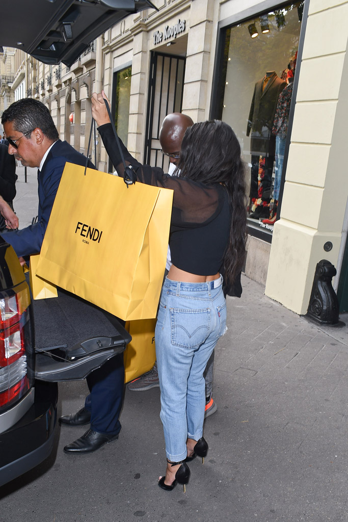 Kardashians Fendi Shopping