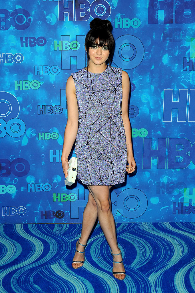 Maisie Williams Emmys 2016 After-Party