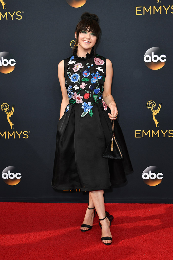Emmys 2016 Maisie Williams