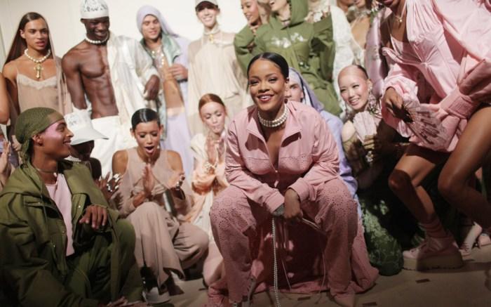 Rihanna Fenty Puma Paris Fashion Week