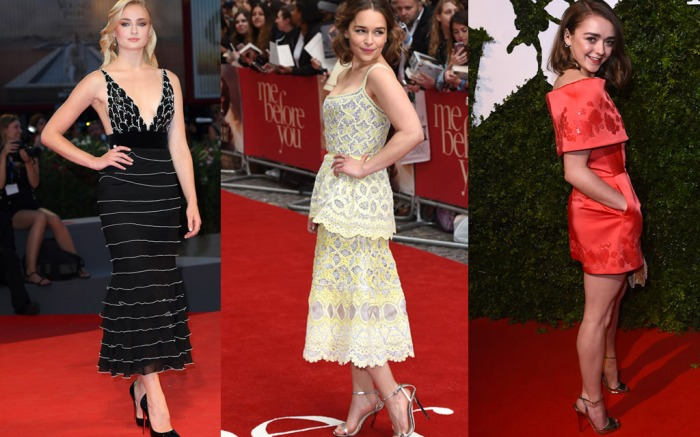Game of Thrones Actresses Red Carpet