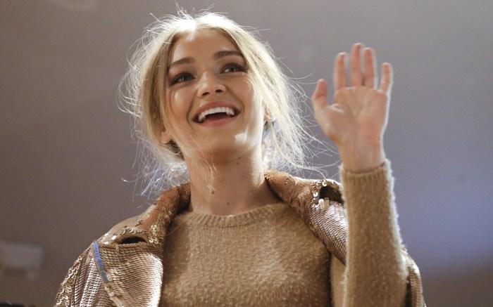Gigi Hadid Max Mara Milan Fashion Week