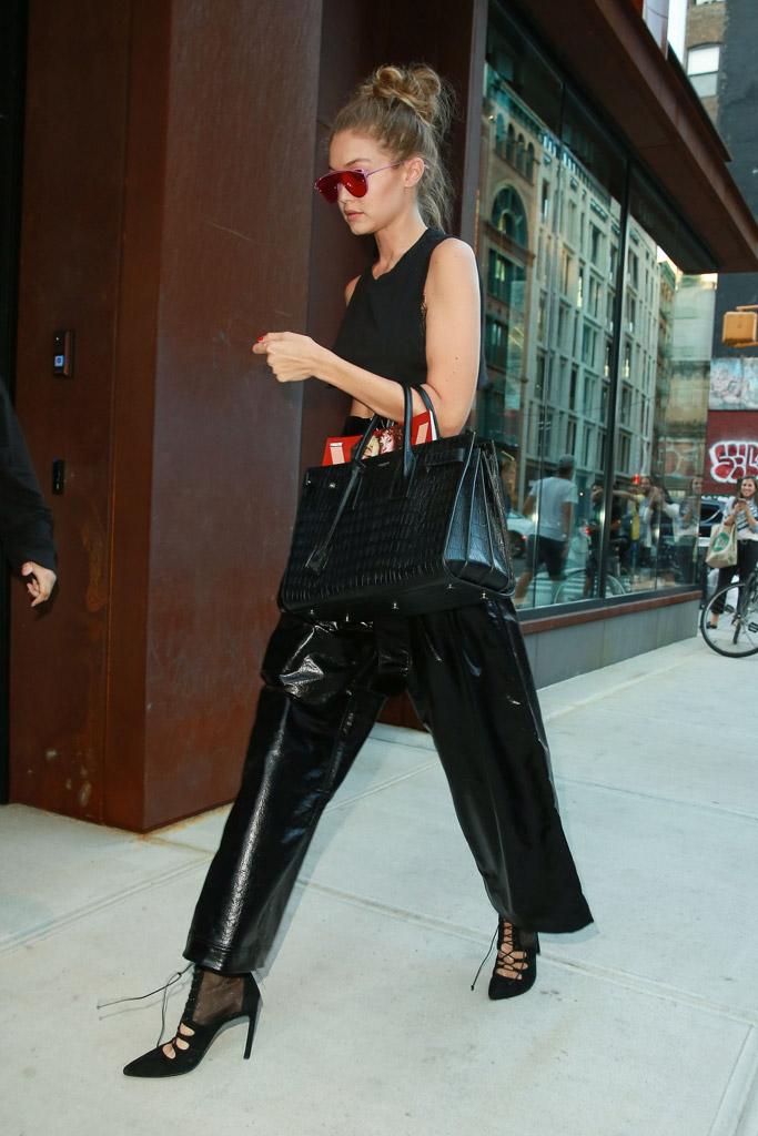 Gigi Hadid Celebrity Statement Shoes September 2016