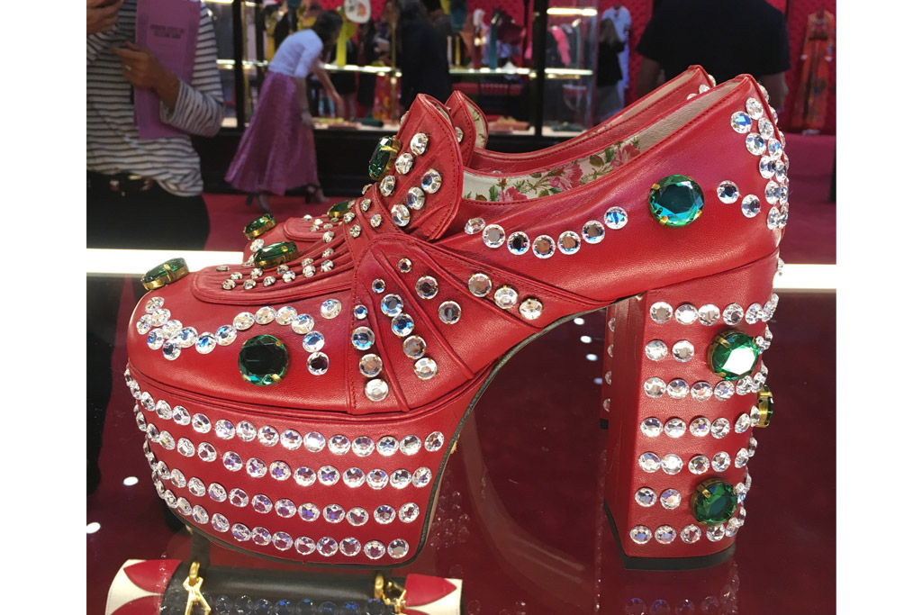 Gucci Spring 2017 Women's Shoes