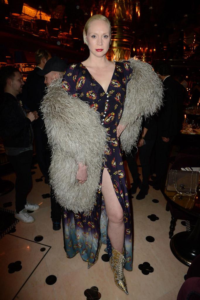 Gwendoline Christie Shoe Style
