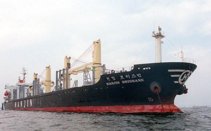 Hanjin Shipping vessel