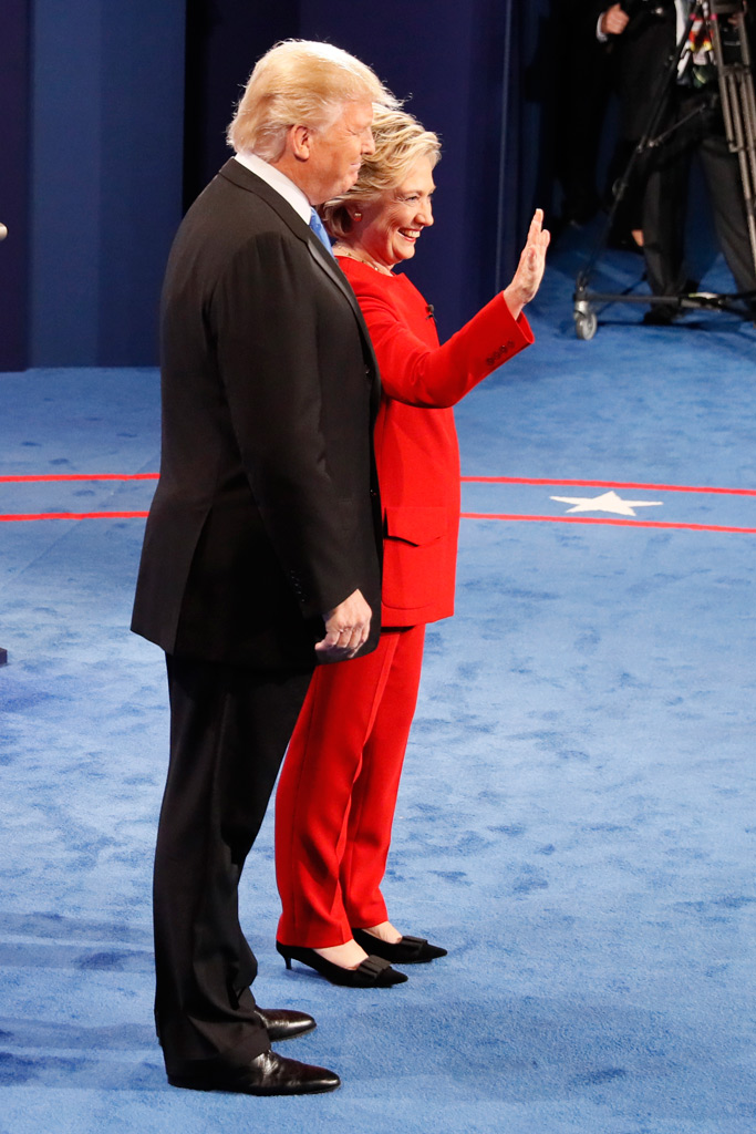 Hillary Clinton Presidential Debate Style