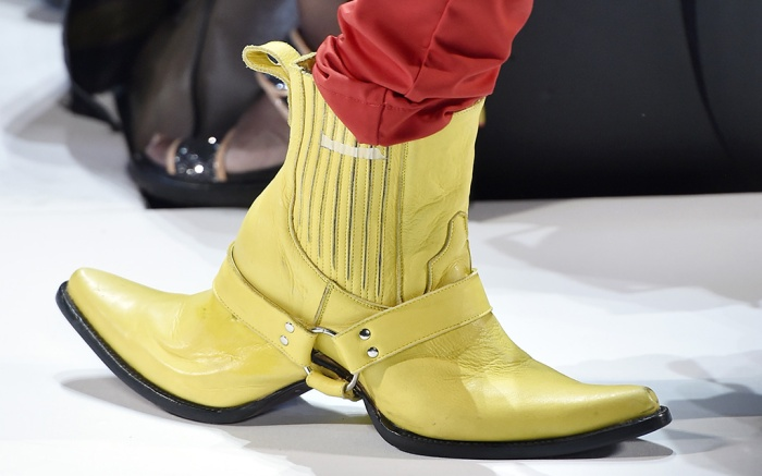 Hood by Air Spring 2017 Double Shoes