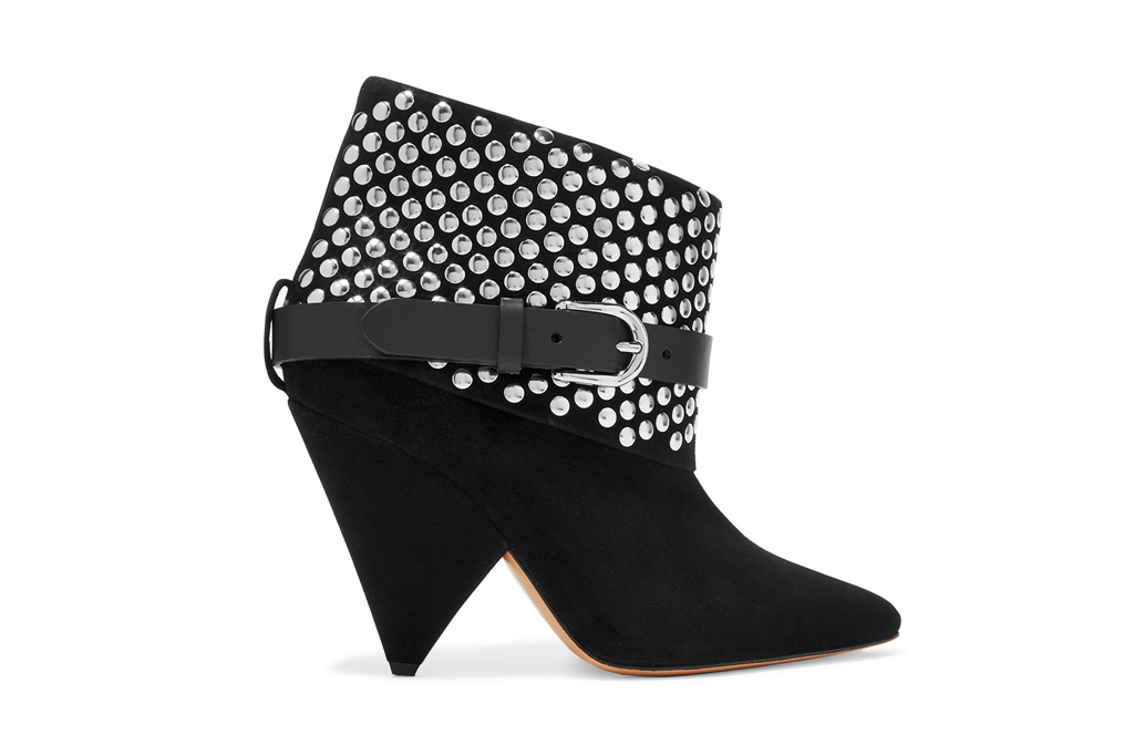Isabel Marant for Net-A-Porter studded Otway boots.