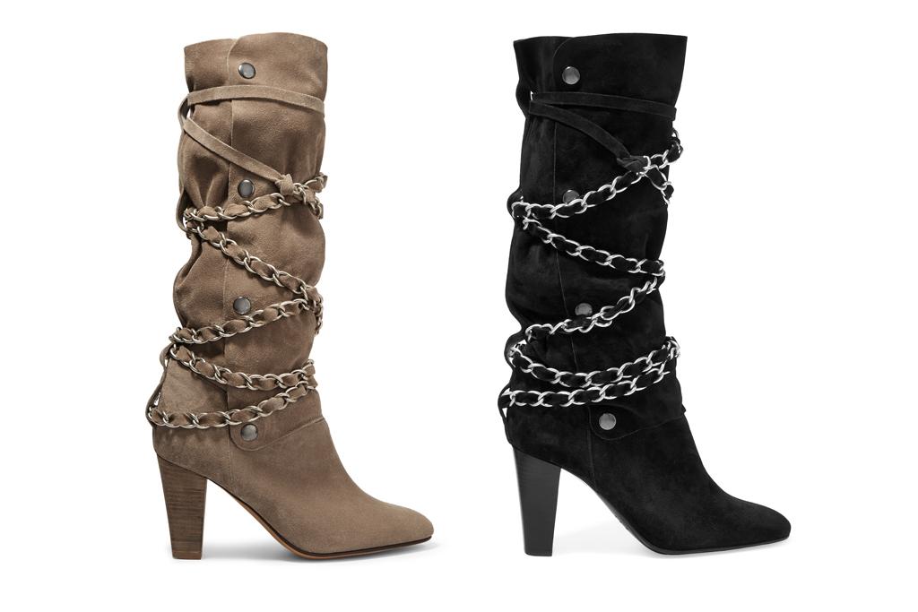 Isabel Marant for Net-a-Porter chain-detail Soono boots