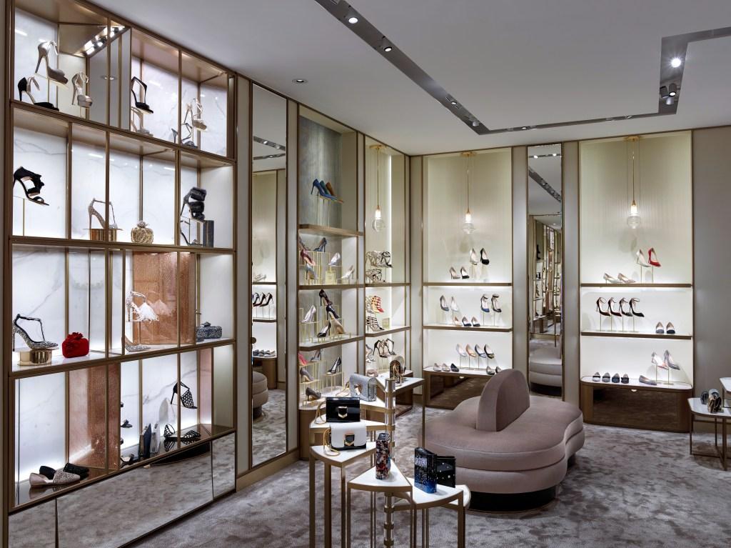 Jimmy Choo boutique Milan