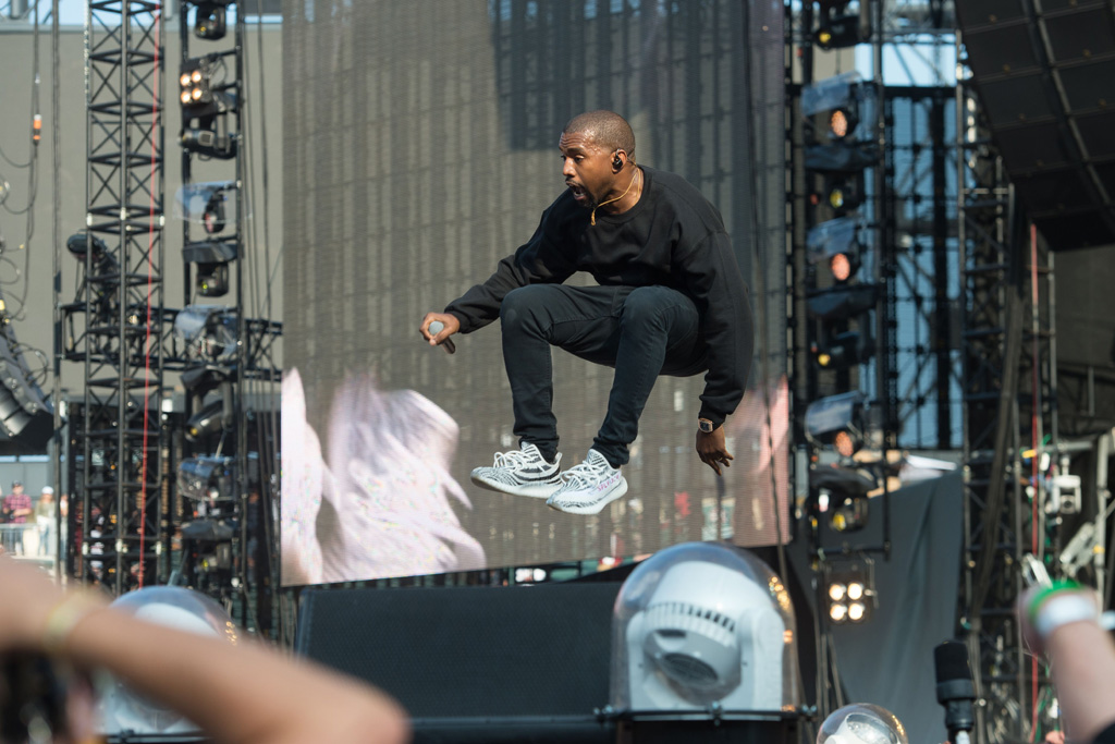 Kanye West Chance the Rapper Magnificent Coloring Day