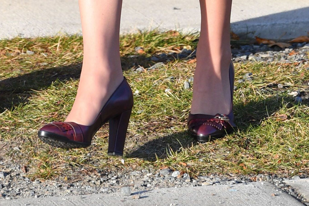 Kate Middleton Canada Trip Style Tod's Pumps