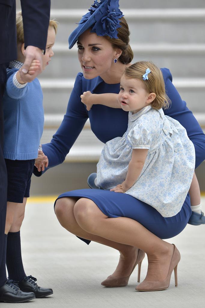 Kate Middleton Canada Trip Style