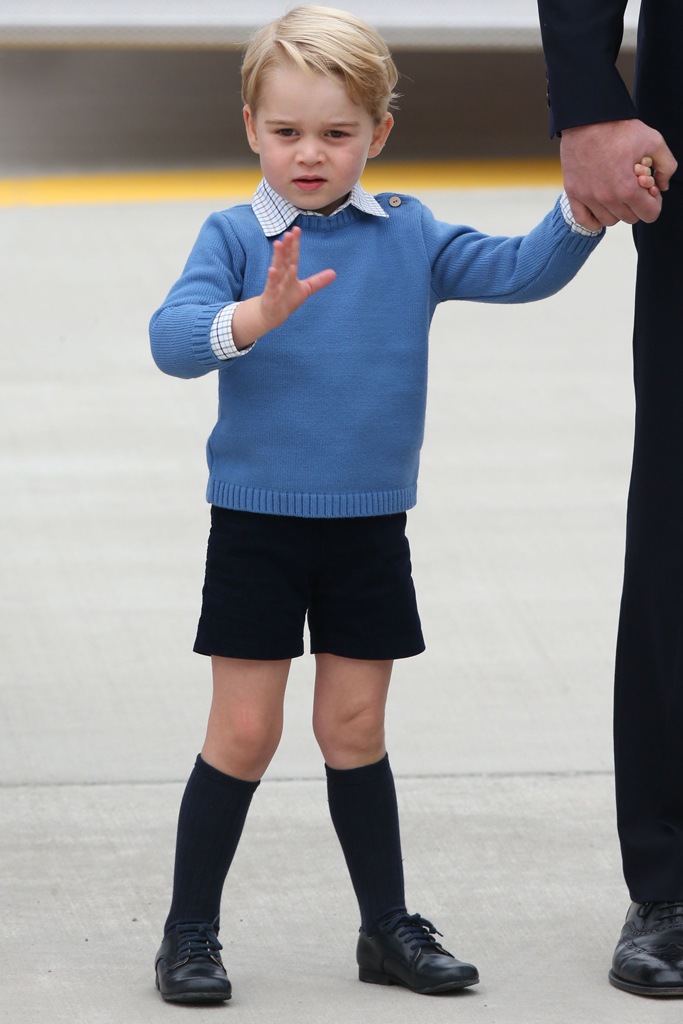Kate Middleton Prince George Canada Trip Style