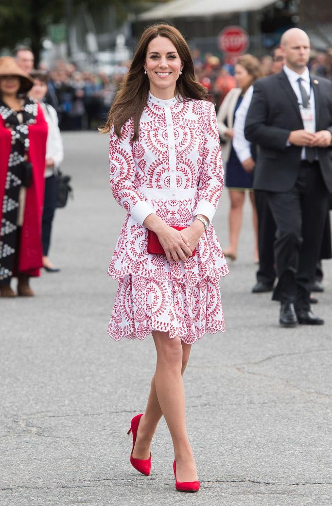 Kate Middleton Celebrity Statement Shoes September 2016