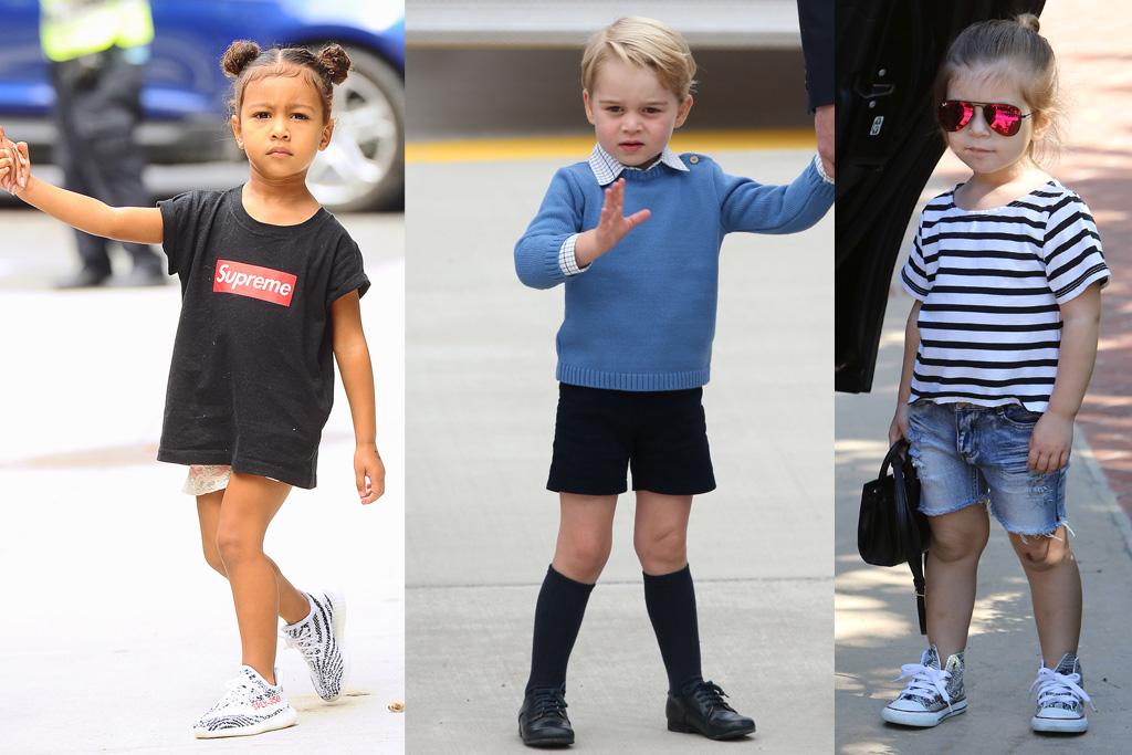 12 Super-Cute Celebrity Kids Street