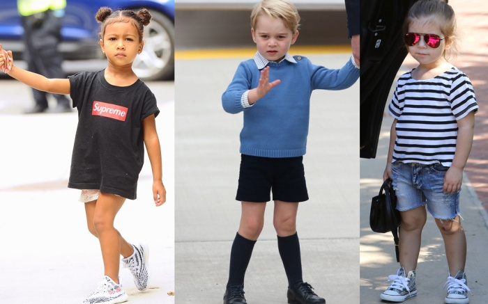 Celebrity Kids Street Style
