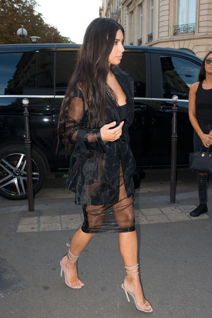 Kim Kardashian West Paris Attack