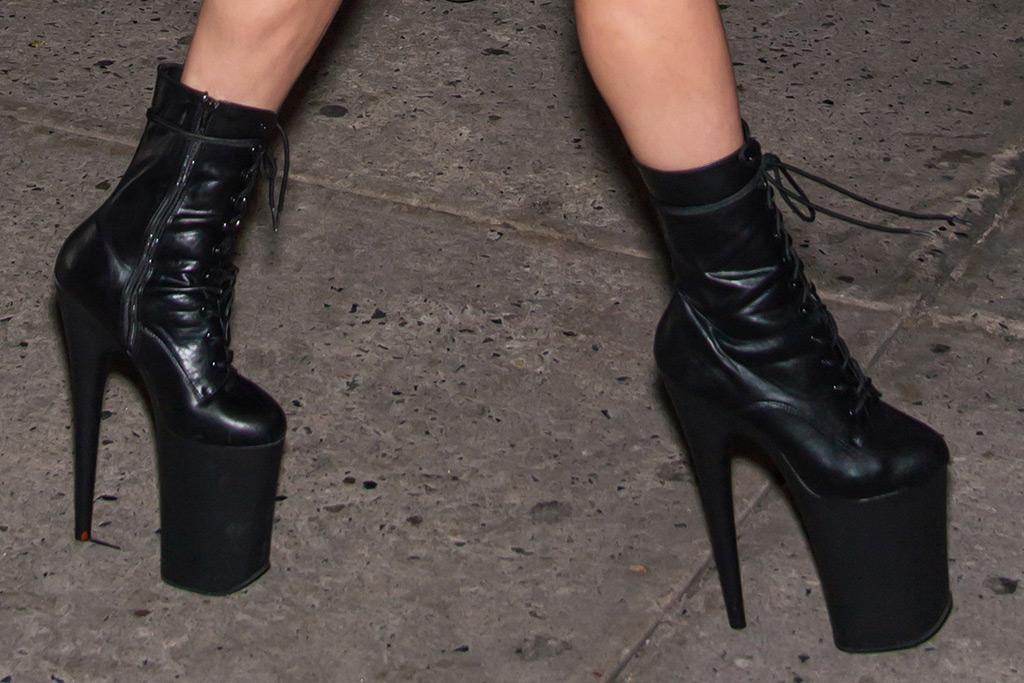 Lady Gaga Brandon Maxwell Pleaser Shoes