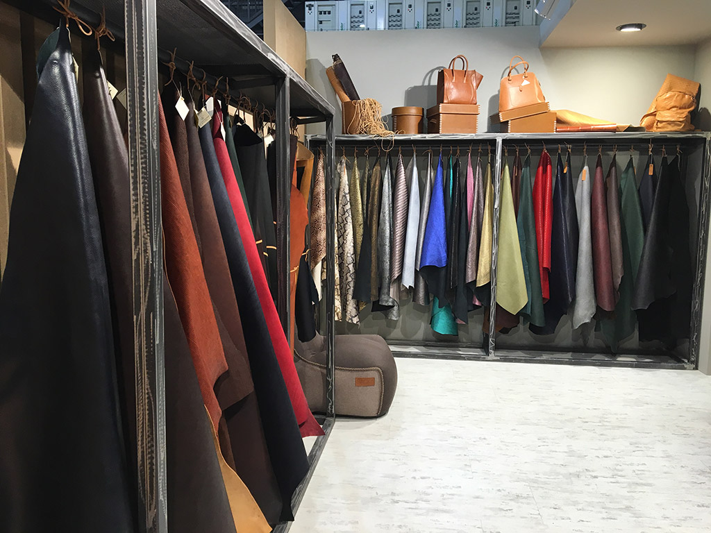Lineapelle milan leather trade show